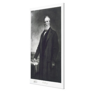 Rutherford B. Hayes, 19th President of the United Canvas Print