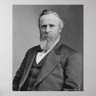 Rutherford B. Hayes Portrait by Mathew Brady Poster