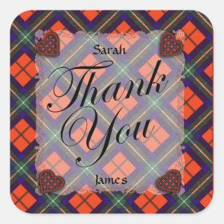 Ruthven Scottish clan tartan - Plaid Sticker