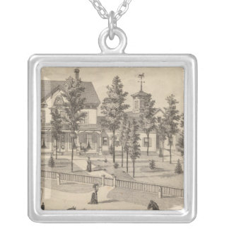 Rutland in Vermont Silver Plated Necklace