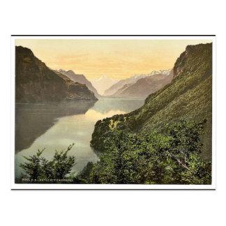 Rutli, and Urnersee, Lake Lucerne, Switzerland cla Postcard
