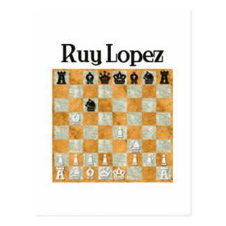 Ruy Lopez Postcard