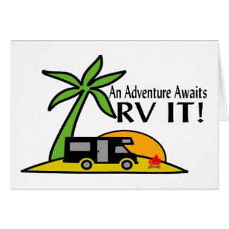 RV Adventure Greeting Card