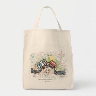 RV Camper Trailer Tote Bag