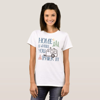 RV Camping Home T-Shirt