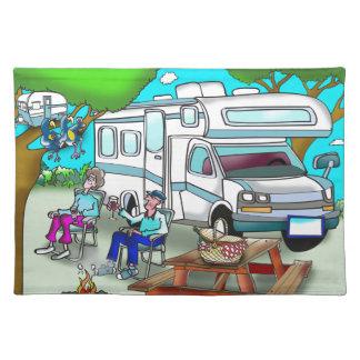 RV Cartoon 9475 Placemat