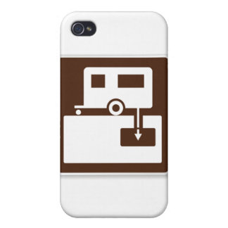 RV Dump Station iPhone 4/4S Covers