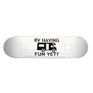 RV Having Fun Yet Funny Wordplay 20 Cm Skateboard Deck