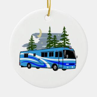 RV Motor Home Camping Christmas Ornament