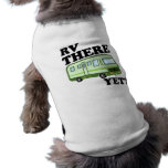 RV THERE YET? (green) Sleeveless Dog Shirt
