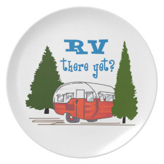 RV There Yet Party Plates