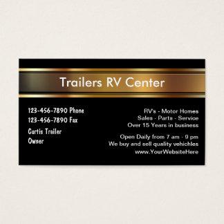 RV Trailer Business Cards