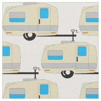 RV Travel Trailer Camping Life Fabric