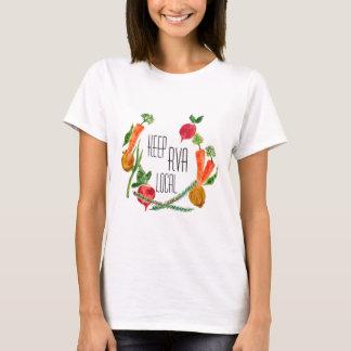 RVA Go Local Women's T Shirt Farm Fresh Design