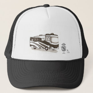 RV'ing Man Trucker Hat