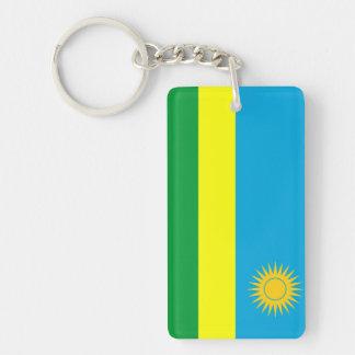 rwanda country flag nation symbol key ring
