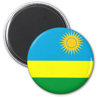 rwanda country flag nation symbol magnet