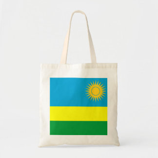 rwanda country flag nation symbol tote bag