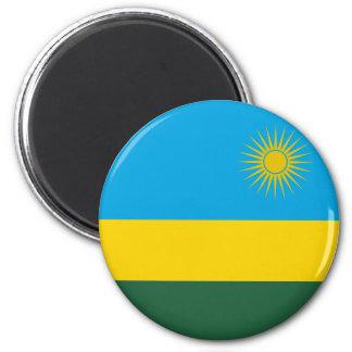Rwanda Flag Magnet