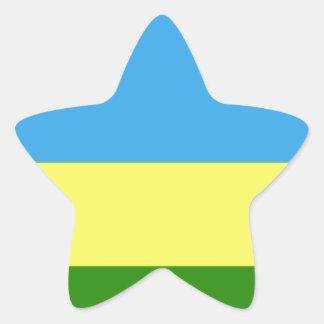 Rwanda Flag Sticker