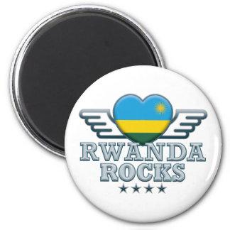 Rwanda Rocks v2 Magnet