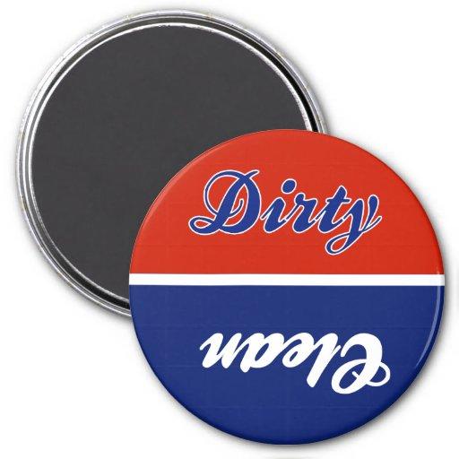 RWB Dirty Clean Dishwasher Magnet