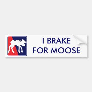 RWB-Moose Bumper Sticker