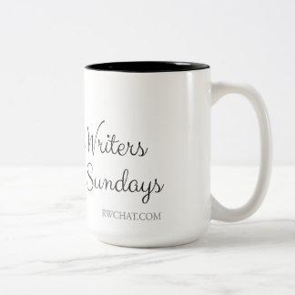 #RWChatters do it on Sundays Two-Tone Coffee Mug