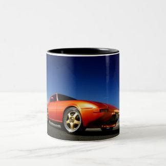 RX7 Sports import Two-Tone Mug