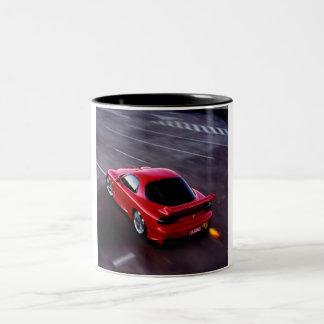 RX7 Sports import Two-Tone Coffee Mug