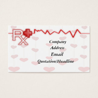 RX business card