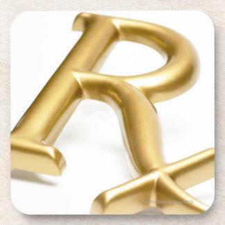 Rx drug sign coaster
