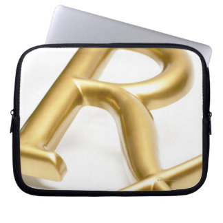 Rx drug sign laptop sleeve