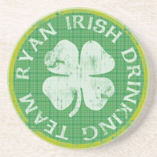 Ryan Irish Drinking Team Coaster