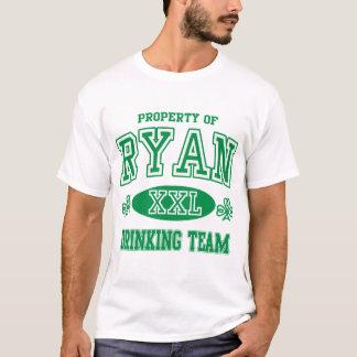 Ryan Irish Drinking Team T-Shirt