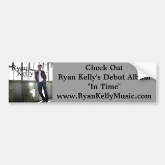 Ryan Kelly Music - Bumper Sticker - Album