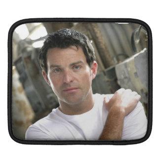 Ryan Kelly Music - iPad Sleeve  - Plain White T