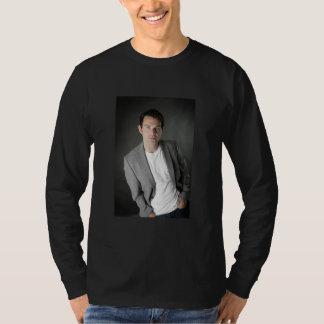 Ryan Kelly Music - Long Sleeve Blk - Grey Tshirts