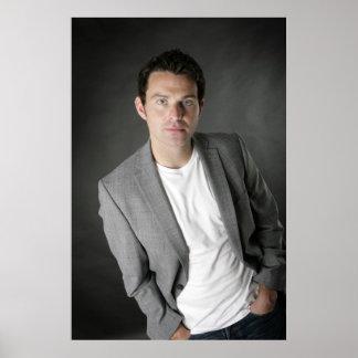 Ryan Kelly Music- Poster - Grey