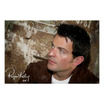 """Ryan Kelly Music - Poster- Leather Jacket-""""Signed"""" Poster"""