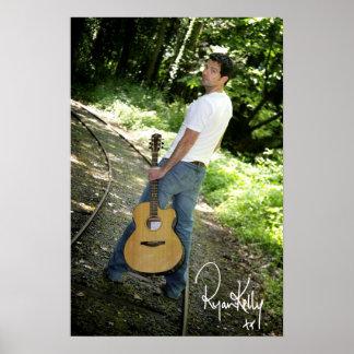 "Ryan Kelly Music - Poster ""signed"" - Tracks"