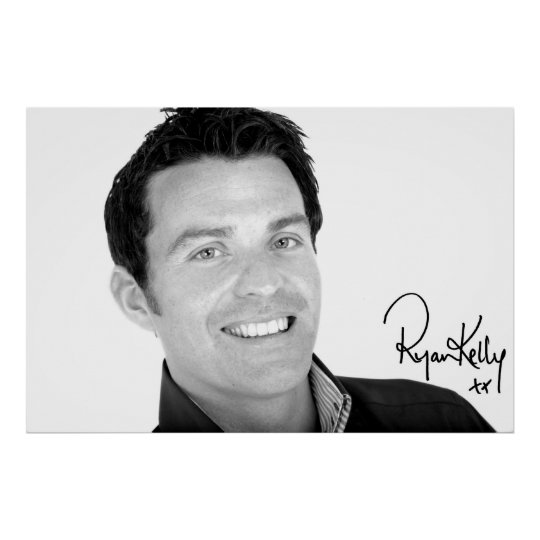 """Ryan Kelly Music - Poster """"Signed"""" - Up"""
