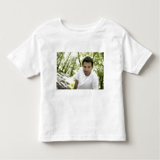 Ryan Kelly Music - Toddler White T - Green Trees T Shirt