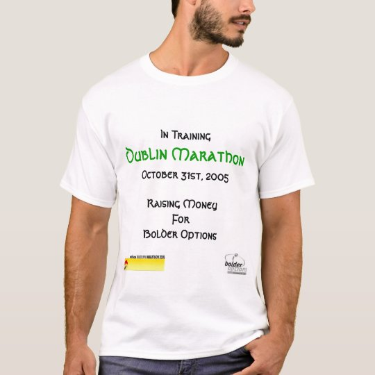 Ryan's Dublin Marathon T-Shirt