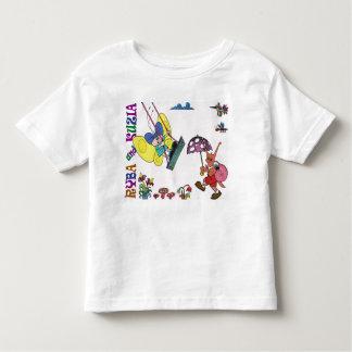 RYBA and KUZIA-7. Moltchanoph Inc.  The Character Toddler T-Shirt