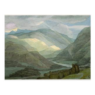 Rydal Water, 1786 (w/c) Postcard