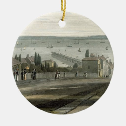 Ryde, from 'A Voyage Around Great Britain Undertak Ornaments