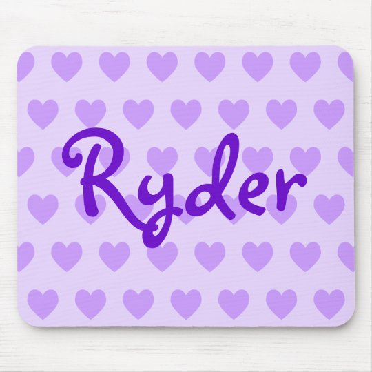 Ryder in Purple Mouse Mat
