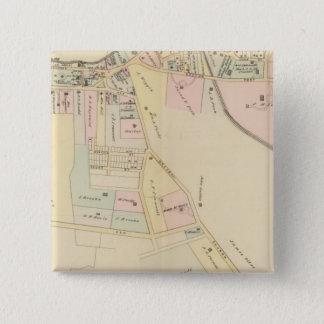 Rye, Cottage Park, New York 15 Cm Square Badge