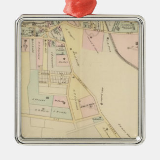 Rye, Cottage Park, New York Christmas Ornament